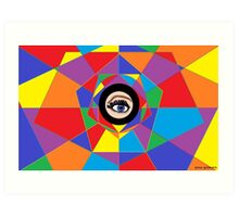 From Inside a Kaleidoscope, Looking Out Art Print