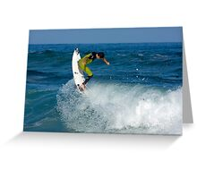 Backhand Aerial Greeting Card
