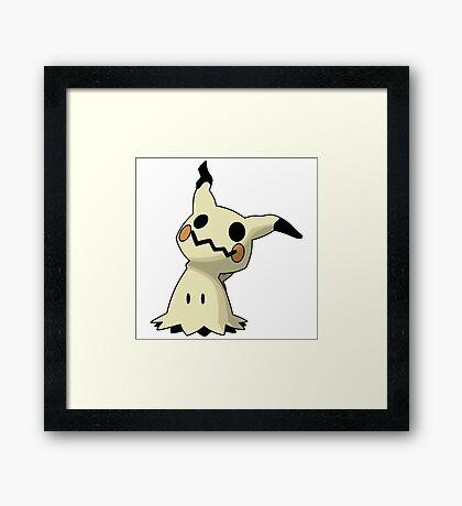 Pokemon - Mimikyu Framed Print