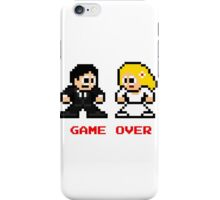 8-bit Bride and Groom-Gave Over iPhone Case/Skin