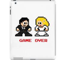8-bit Bride and Groom-Gave Over iPad Case/Skin