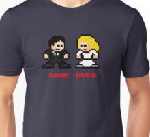 8-bit Bride and Groom-Gave Over Unisex T-Shirt