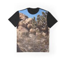 Out West #2 - Joshua Tree and Boulders Graphic T-Shirt