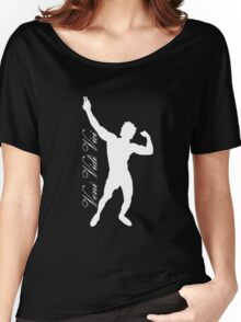 Zyzz Silhouette Veni Vidi Vici White Women's Relaxed Fit T-Shirt