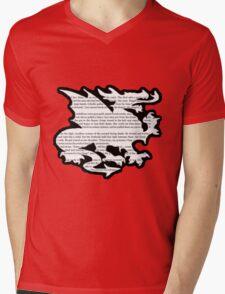 Daenerys Targaryen Dragon  Mens V-Neck T-Shirt