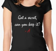 Pretty Little Liars Women's Fitted Scoop T-Shirt
