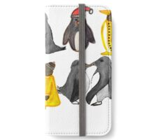 Penguin party iPhone Wallet/Case/Skin