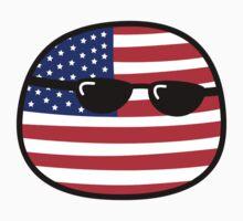 Polandball - USA Big by xzbobzx