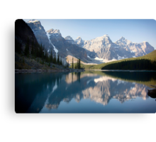 Lake Moraine - Alberta, Canada Canvas Print