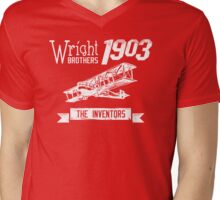 The Wright Brothers 2.0 Mens V-Neck T-Shirt