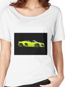 2015 Audi R8 Razor GTR 'Profile on Black' Women's Relaxed Fit T-Shirt