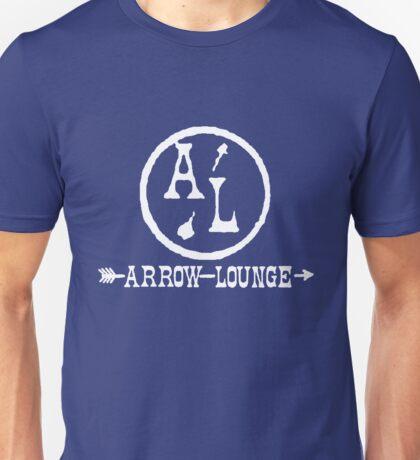 Arrow Lounge White Unisex T-Shirt