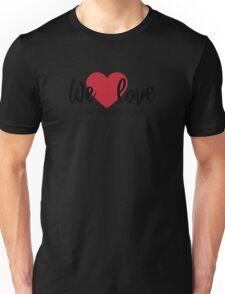1 John 4:19 – We love because he first loved us T-Shirt Unisex T-Shirt
