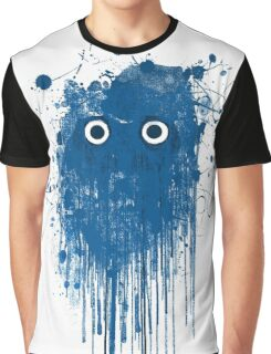 Blue Ghost Graphic T-Shirt