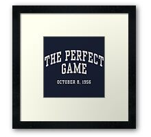 The Perfect Game Framed Print