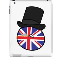 Polandball - Great Britain Big iPad Case/Skin