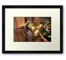 Unto us a Child is born Framed Print
