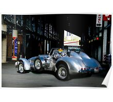 1950 Allard J2 X Special Roadster Poster