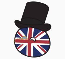 Polandball - Great Britain Small Baby Tee