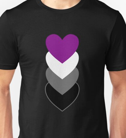 Asexuality in Shapes Unisex T-Shirt