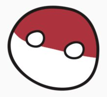 Polandball - Derpy Poland Small by xzbobzx