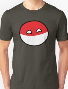 Polandball - Happy Poland Big Unisex T-Shirt