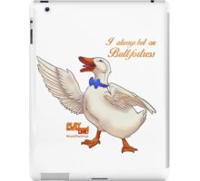 A DAY AT THE DUCK RACES iPad Case/Skin