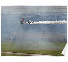 Through The Smoke - Wingwalkers - Shoreham 2014 Poster