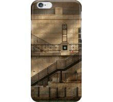 City - Chicago, IL - Ups and downs iPhone Case/Skin