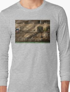 City - Chicago, IL - Ups and downs Long Sleeve T-Shirt