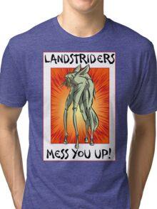 I just don't trust 'em! Tri-blend T-Shirt