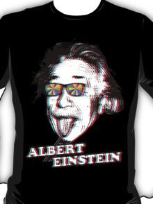 3D Albert Einstein T-Shirt