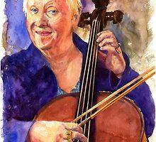 Cello Teacher by LifePortraits