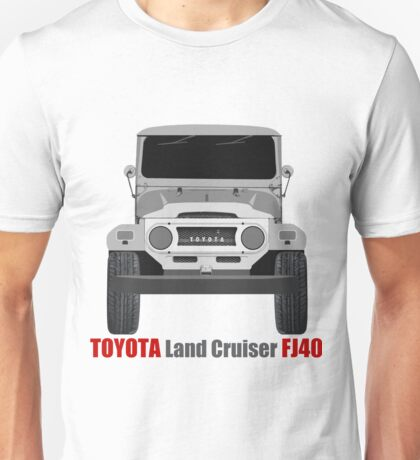 Toyota  Land Cruiser FJ40 - Front Unisex T-Shirt