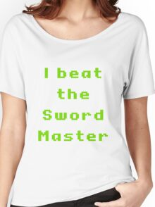 I beat the sword master Women's Relaxed Fit T-Shirt