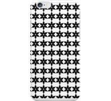 Snow Flake Black&White iPhone Case/Skin