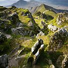 Snowdonia- View from Snowdon 2 by Angie Latham