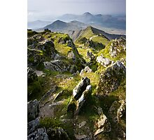 Snowdonia- View from Snowdon 2 Photographic Print