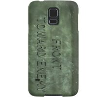 Front Towards Enemy - Claymore  Samsung Galaxy Case/Skin