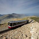 Snowdonia- Snowdon Mountain Railway by Celtic Mystery