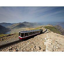 Snowdonia- Snowdon Mountain Railway Photographic Print