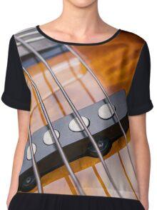 Five String Bass Guitar Chiffon Top