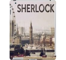 Sherlock & London iPad Case/Skin