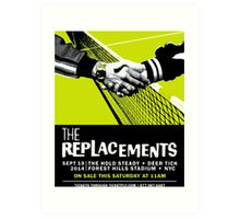 The Replacements Forest Hills show Art Print