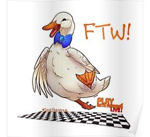 For the Win! Epic Duck Races! Poster