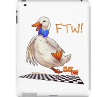 For the Win! Epic Duck Races! iPad Case/Skin