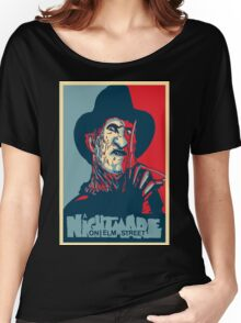 A Nightmare On Elm Street Hope Poster Women's Relaxed Fit T-Shirt