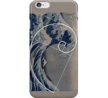 Hokusai Meets Fibonacci iPhone Case/Skin