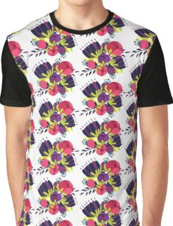 pink purple floral bouquet Graphic T-Shirt