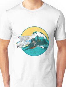 Pedestrian Surfer Unisex T-Shirt